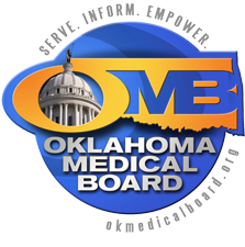 Oklahoma Medical Board.  Serve.  Inform.  Empower.